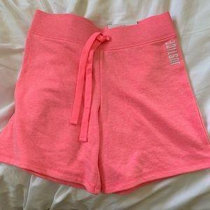 Justice Pink Bermuda Shorts